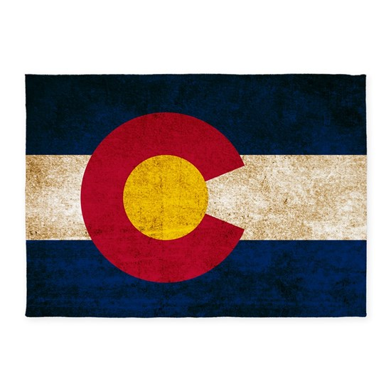 Vintage Flag of Colorado