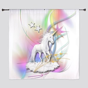 Unicorn Curtains Cafepress