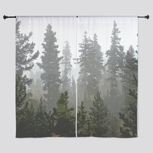 "Misty pines 60"" Curtains"