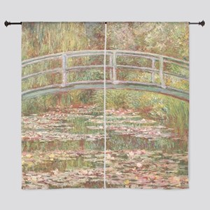 Monet's Japanese Bridge and Water Lil Curtains
