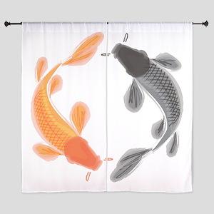 Japanese Koi Curtains