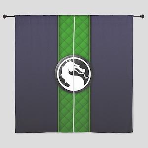 """Mortal Kombat Logo - Reptile Klassic 60"""" Curtains"""