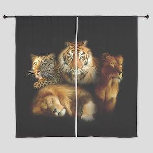 "Wild Predators 60"" Curtains"