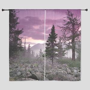"Beautiful Forest Landscape 60"" Curtains"