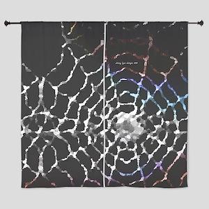 "Spider Web 60"" Curtains"