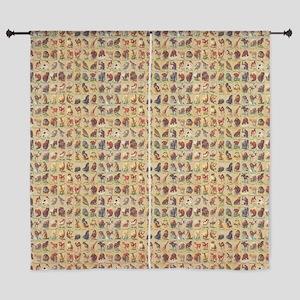 Vintage Animals Curtains
