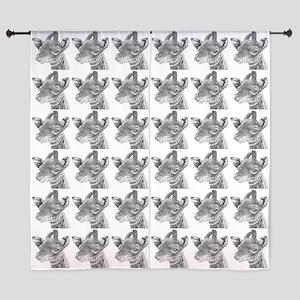 "Baby Giraffe 60"" Curtains"