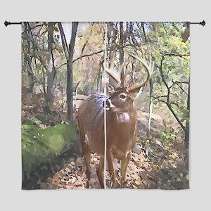 """Woodland Buck Deer 60"""" Curtains"""