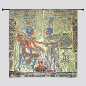 "Tutankhamons Throne 60"" Curtains"