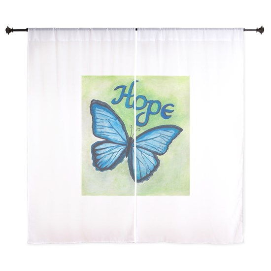 hope blue butterfly