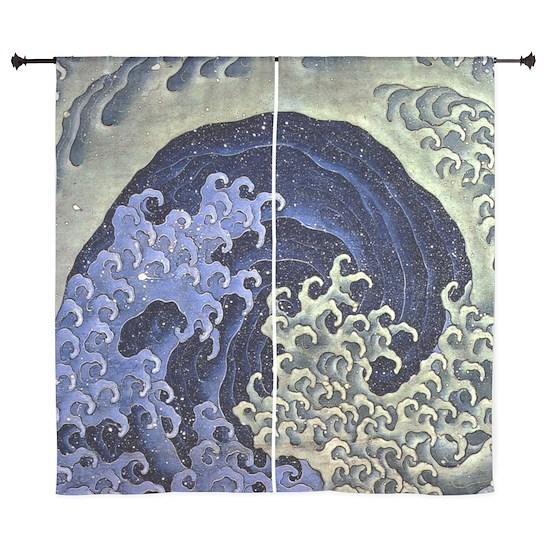 The Feminine Wave by Hokusai