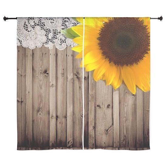 rustic barn yellow sunflower
