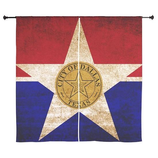 Vintage Flag of Dallas Texas