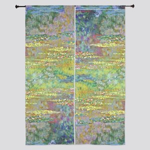 "Water Lilies by Monet 84"" Curtains"