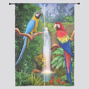 """MaCaw Tropical Parrots 84"""" Curtains"""