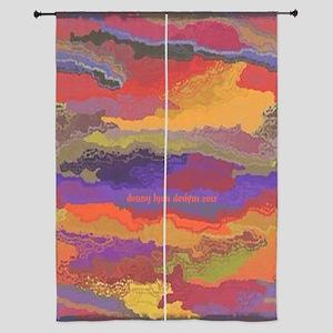 """Autumn Sunset 84"""" Curtains"""