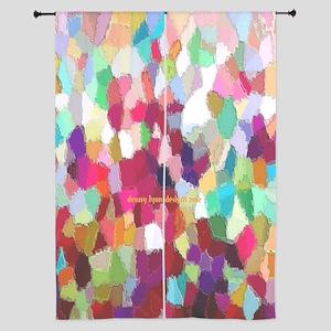 Rainbow Colors 84&Quot; Curtains