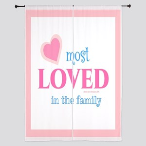 "Most Loved Family 84"" Curtains"