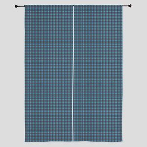 "Hoots Toots Haggis Blue Tartan 84"" Curtains"