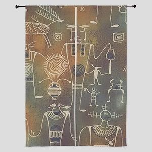 "Hopi Petroglyphs 84"" Curtains"