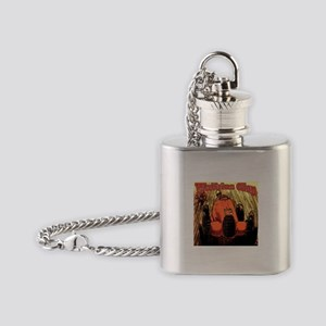 Watkins Glen Racing Flask Necklace