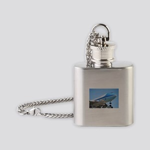 Air Force One Flask Necklace