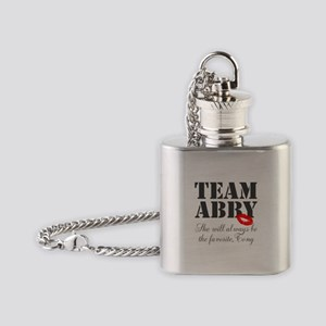 Team Abby Flask Necklace