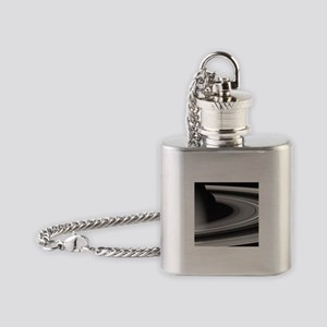 saturn Flask Necklace