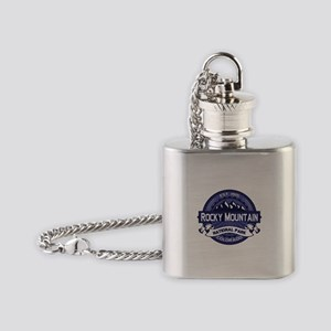 Rocky Mountain Midnight Flask Necklace