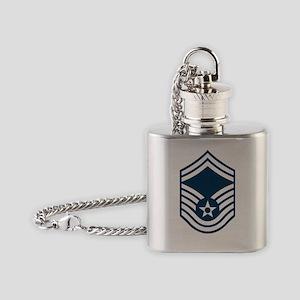 USAF-SMSgt-X Flask Necklace