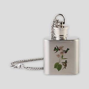 John Audubon Annas Hummingbird Flask Necklace
