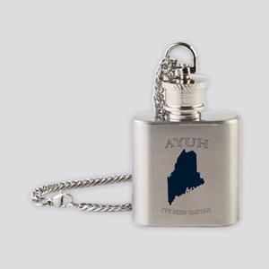Ayuh Ive Been There Flask Necklace