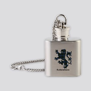 Lion-Robertson hunting Flask Necklace