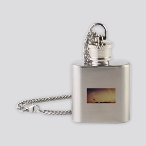 Air Ambulance Flask Necklace