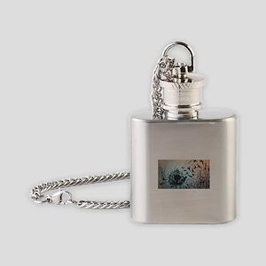 Wulan's Dandelion Flask Necklace