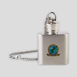 EOD Mobile Unit 5 Guam Flask Necklace
