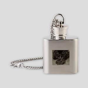 atticussquareface Flask Necklace