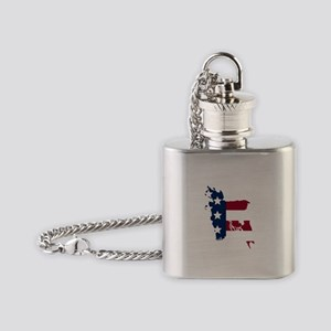 Bangladeshi American Flask Necklace