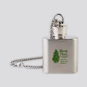 SHADY PINES Golden Girls Flask Necklace