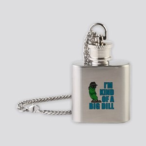 Kind Of A Big Dill Flask Necklace
