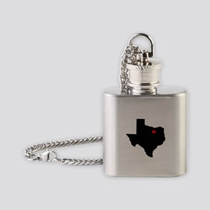 Home State - Texas Flask Necklace