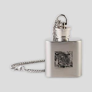 Lazy Tiger Flask Necklace