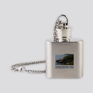 Acadia 3 Flask Necklace