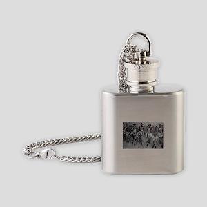Women Power Flask Necklace
