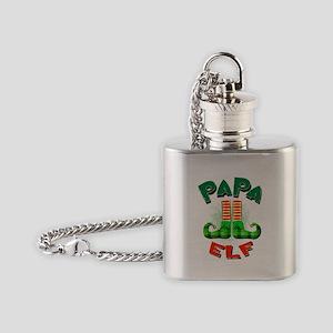 Papa Elf Flask Necklace