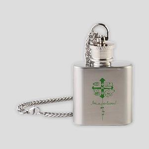 imabeliver Flask Necklace