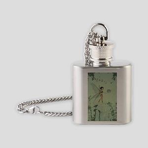 Cute fairy Flask Necklace