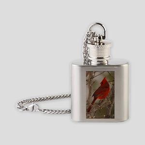 cardinal1pster Flask Necklace