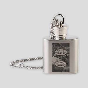 Hey, Bar Keep! Flask Necklace