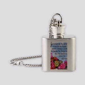 PRETTY SERENITY Flask Necklace